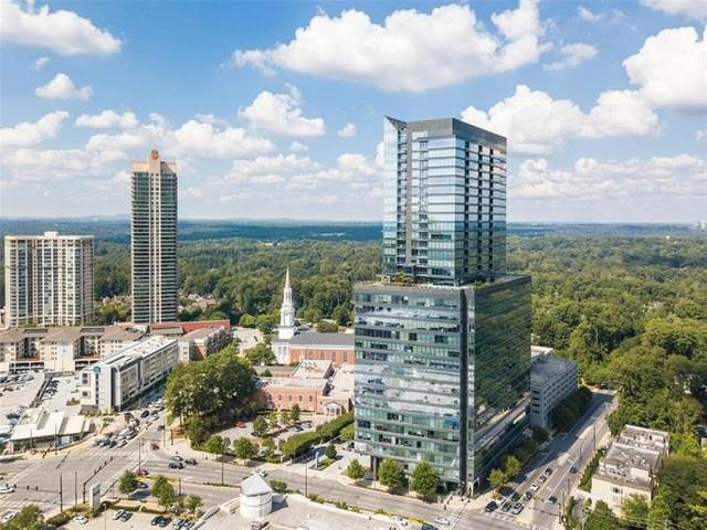 3630 Peachtree Rd #2808, Atlanta, GA 30326 (MLS #8911569) :: Keller Williams Realty Atlanta Partners