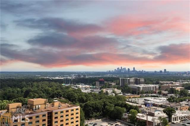 3324 Peachtree Rd #2306, Atlanta, GA 30326 (MLS #8924623) :: Buffington Real Estate Group