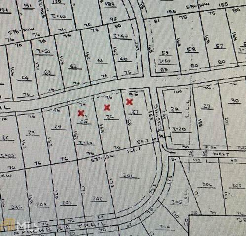 0 Sawnee Terrace Lot 27, Gainesville, GA 30506 (MLS #8925097) :: Anderson & Associates