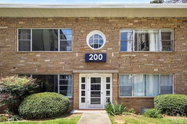 2240 Cheshire Bridge Rd #205, Atlanta, GA 30324 (MLS #8955232) :: Anderson & Associates