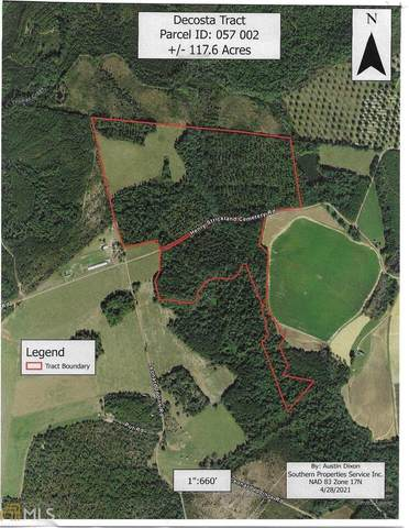 0 Henry Strickland Cemetery Road, Reidsville, GA 30453 (MLS #8975390) :: Statesboro Real Estate