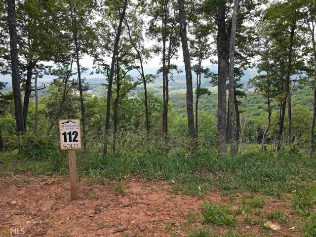 0 Highland Park Lt 112, Blairsville, GA 30512 (MLS #8988060) :: Athens Georgia Homes
