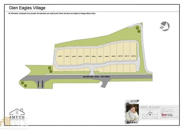 805 Hays Mill Rd Villa 6, Carrollton, GA 30117 (MLS #8995890) :: Rettro Group