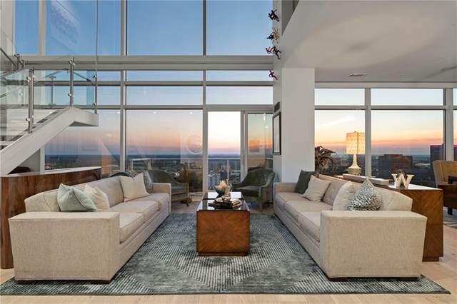 45 Ivan Allen Jr Boulevard NW #2703, Atlanta, GA 30308 (MLS #9006938) :: Statesboro Real Estate