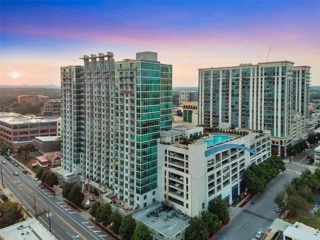 250 NE Pharr Road NE #702, Atlanta, GA 30305 (MLS #9019744) :: Statesboro Real Estate