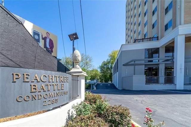 2285 Peachtree Road #1003, Atlanta, GA 30309 (MLS #9021730) :: Statesboro Real Estate
