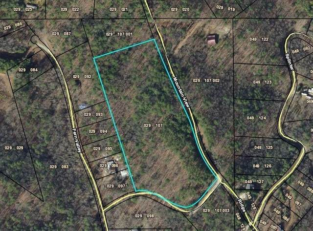 0 Mountain View Road, Dawsonville, GA 30534 (MLS #9025077) :: Rettro Group
