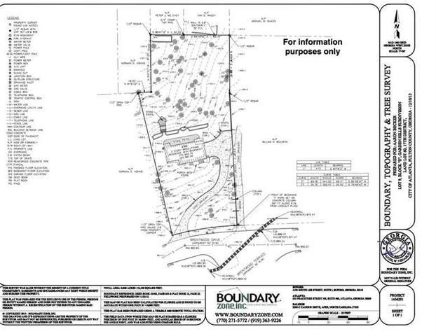 366 Brentwood Drive NE, Atlanta, GA 30305 (MLS #9030749) :: Statesboro Real Estate