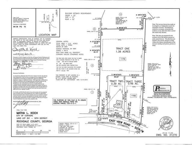 1170 Eastview Road NE, Conyers, GA 30012 (MLS #9037941) :: Athens Georgia Homes