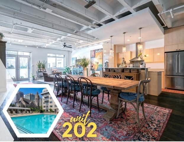 805 Peachtree Street #202, Atlanta, GA 30308 (MLS #9055353) :: Statesboro Real Estate