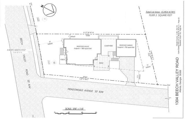 1304 Beech Valley Road NE, Atlanta, GA 30306 (MLS #9061668) :: Statesboro Real Estate