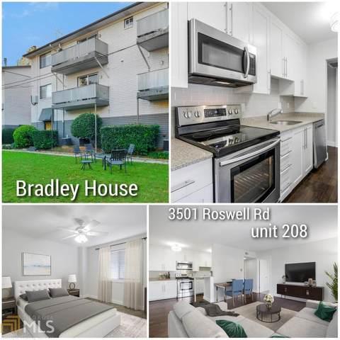 3501 Roswell Rd #208, Atlanta, GA 30305 (MLS #8896299) :: Anderson & Associates