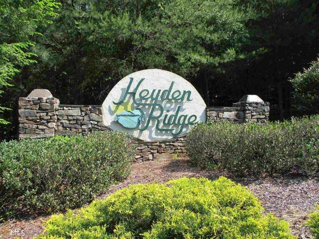 0 Heyden Ridge Drive Lot 3, Clarkesville, GA 30523 (MLS #8914981) :: Athens Georgia Homes