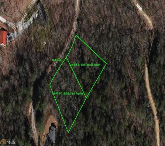 Lots 40 & 41 Lilac Lane, Clayton, GA 30525 (MLS #8966639) :: Buffington Real Estate Group
