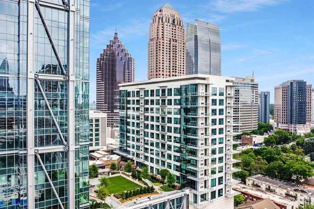 40 12th Street NW #806, Atlanta, GA 30309 (MLS #9005867) :: Statesboro Real Estate