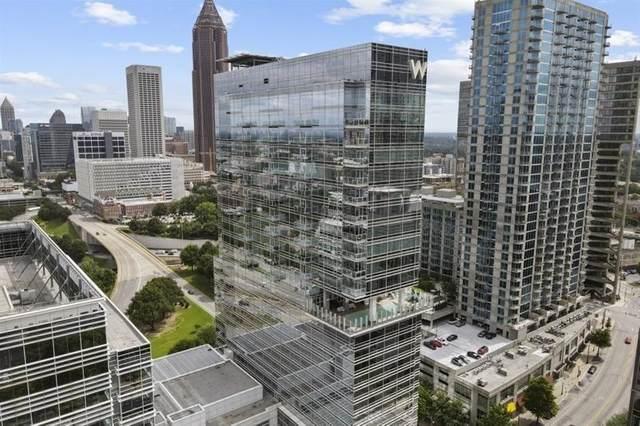 45 Ivan Allen Jr Boulevard NW #2605, Atlanta, GA 30308 (MLS #9014384) :: Statesboro Real Estate
