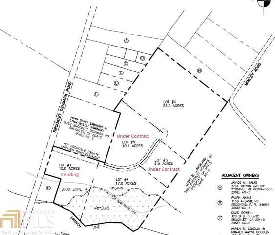 0 Brooklet Denmark Rd #2, Brooklet, GA 30415 (MLS #8809841) :: RE/MAX Eagle Creek Realty