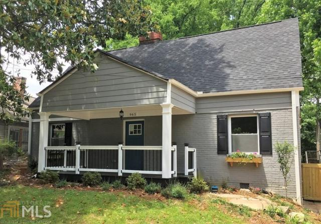 965 SW Washington Pl, Atlanta, GA 30314 (MLS #8557176) :: Royal T Realty, Inc.