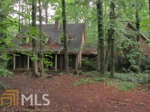 201 Hickory Rd., Fayetteville, GA 30214 (MLS #8211933) :: Adamson & Associates