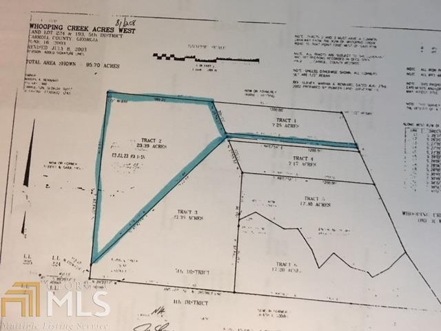 0 Whooping Creek Rd, Carrollton, GA 30116 (MLS #8338586) :: The Heyl Group at Keller Williams
