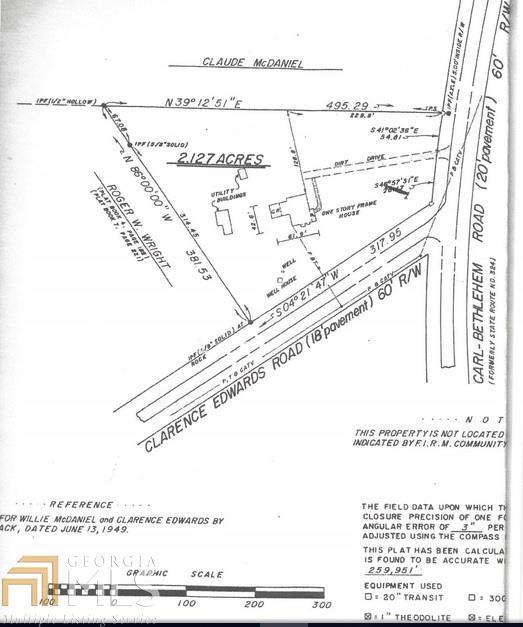 709 Clarence Edwards Rd, Bethlehem, GA 30620 (MLS #8350366) :: Anderson & Associates