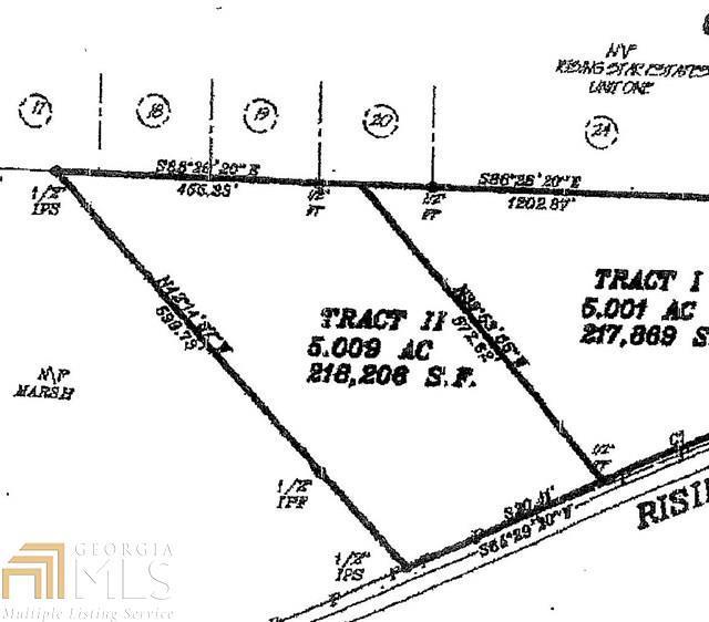 0 Rising Star Rd, Brooks, GA 30205 (MLS #8469508) :: Anderson & Associates
