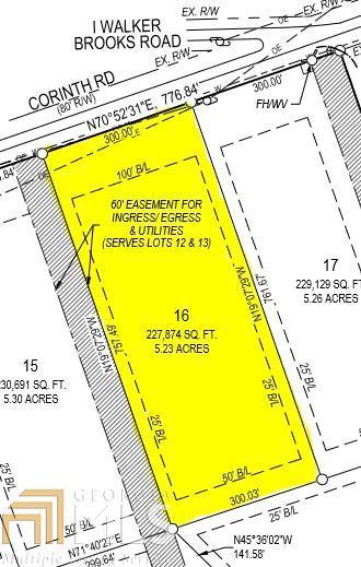0 Corinth Rd #16, Newnan, GA 30263 (MLS #8513771) :: Rettro Group