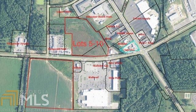 0 Industrial Rd 5-10, Fitzgerald, GA 31750 (MLS #8570909) :: Crown Realty Group