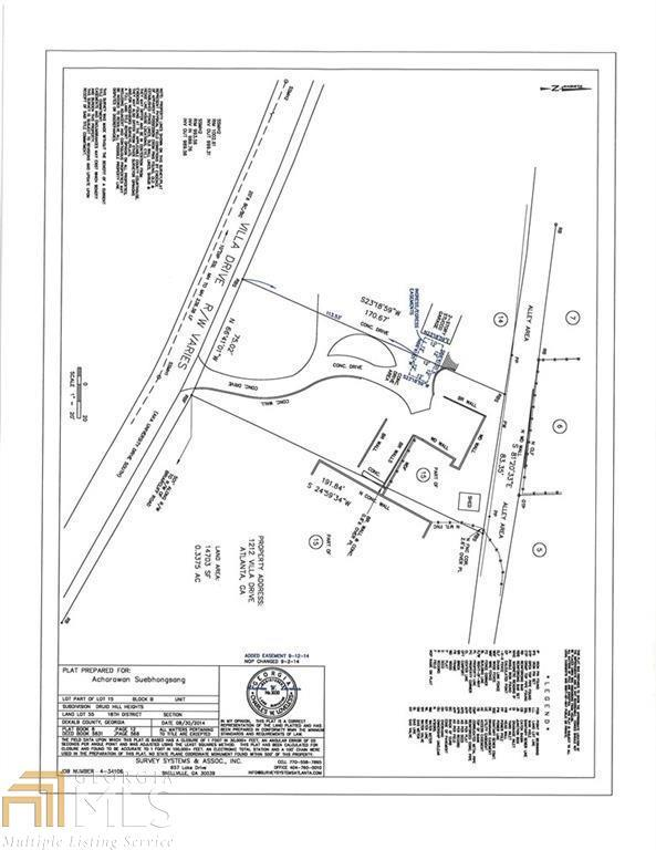 1212 Villa Dr, Atlanta, GA 30306 (MLS #8579515) :: Buffington Real Estate Group