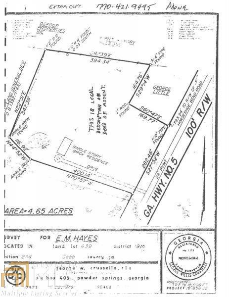 2318 Powder Springs Rd, Marietta, GA 30064 (MLS #8601043) :: Rettro Group