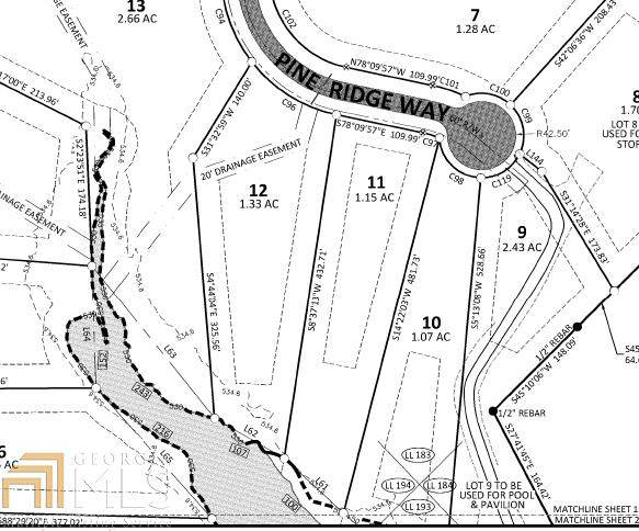 45 Pine Ridge Way Lot 11, Monticello, GA 31064 (MLS #8716391) :: The Heyl Group at Keller Williams