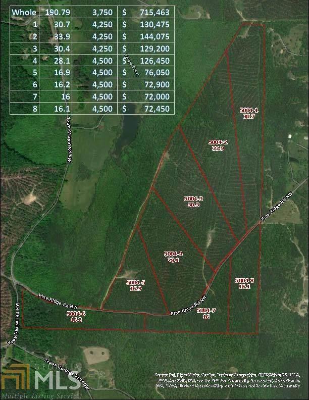 0 Pine Ridge Rd 5004-5, White, GA 30184 (MLS #8757789) :: Buffington Real Estate Group
