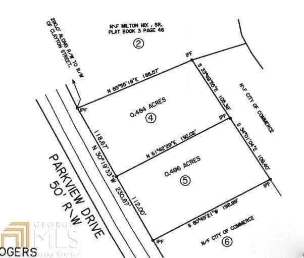 0 Parkview Dr Lot 4, Commerce, GA 30529 (MLS #8791458) :: Buffington Real Estate Group