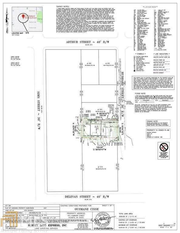 1011 Hubbard St, Atlanta, GA 30310 (MLS #8857852) :: Crown Realty Group