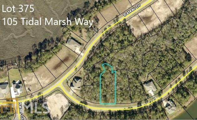 105 Tidal Marsh Way #375, St. Marys, GA 31558 (MLS #8886097) :: Military Realty
