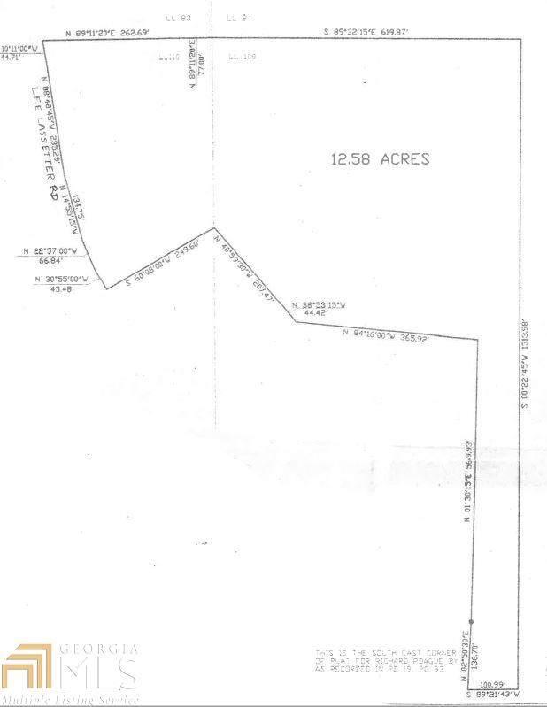 0 Lee Lassetter Rd 12.58Ac, Newnan, GA 30263 (MLS #8887739) :: Rettro Group