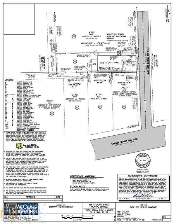 336 Sterling St, Atlanta, GA 30307 (MLS #8895303) :: Regent Realty Company