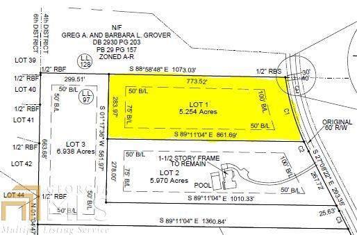 0 Padgett Rd #1, Senoia, GA 30276 (MLS #8937279) :: Anderson & Associates