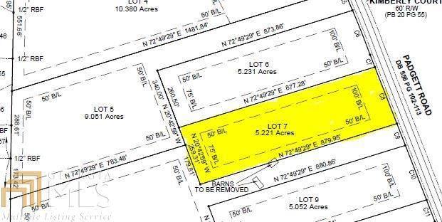 0 Padgett Rd #7, Senoia, GA 30276 (MLS #8937520) :: Anderson & Associates