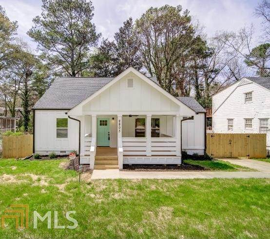2803 Harlan Dr, East Point, GA 30344 (MLS #8947895) :: The Realty Queen & Team