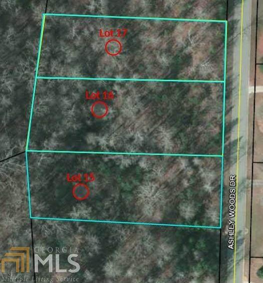 0 Ashley Woods Drive Lot 16, Newnan, GA 30263 (MLS #8959264) :: RE/MAX Eagle Creek Realty