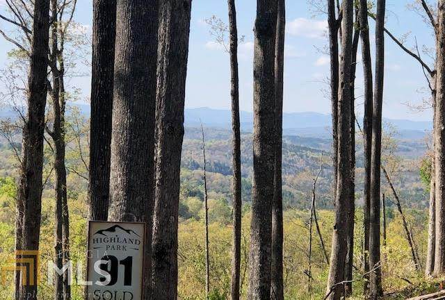 0 Highland Park Lot 91, Blairsville, GA 30512 (MLS #8972589) :: The Ursula Group