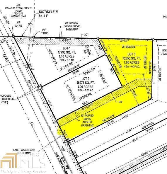 0 Highway 279 #3, Fayetteville, GA 30214 (MLS #8983554) :: Bonds Realty Group Keller Williams Realty - Atlanta Partners