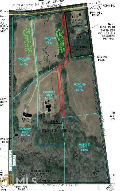 661 Bexton Rd Lot #1, Moreland, GA 30259 (MLS #8990238) :: Anderson & Associates
