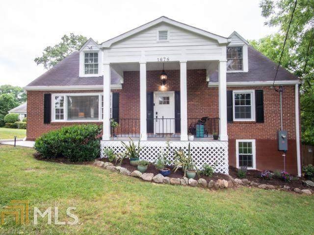 1678 N Druid Hills Rd, Brookhaven, GA 30319 (MLS #8992148) :: Buffington Real Estate Group