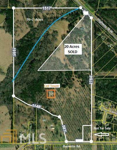 0 W Highway 18 Burnette Rd, Barnesville, GA 30204 (MLS #8998257) :: Scott Fine Homes at Keller Williams First Atlanta