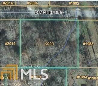 0 Dutchess Rd, Lithia Springs, GA 30122 (MLS #8999557) :: Buffington Real Estate Group
