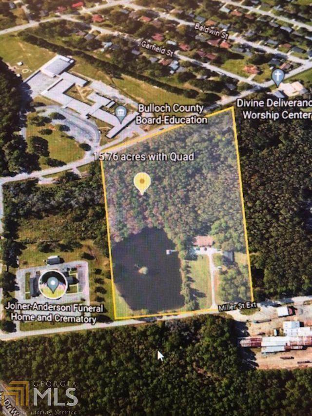 506 W Miller St, Statesboro, GA 30458 (MLS #9025697) :: Better Homes and Gardens Real Estate Executive Partners