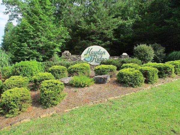 36 Heyden Ridge #36, Clarkesville, GA 30523 (MLS #9037110) :: Athens Georgia Homes