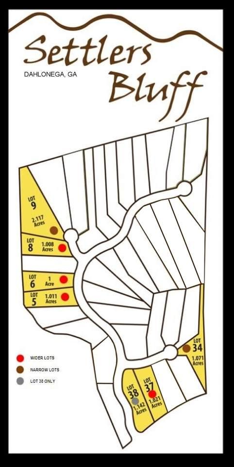 0 Settlers Bluff Settlers Run, Dahlonega, GA 30533 (MLS #9043973) :: Crown Realty Group